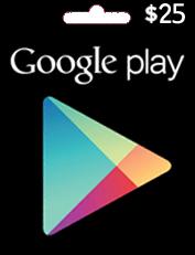 بطاقات كوكل Google play card