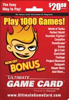 بطاقات ultimate game card متوفرة